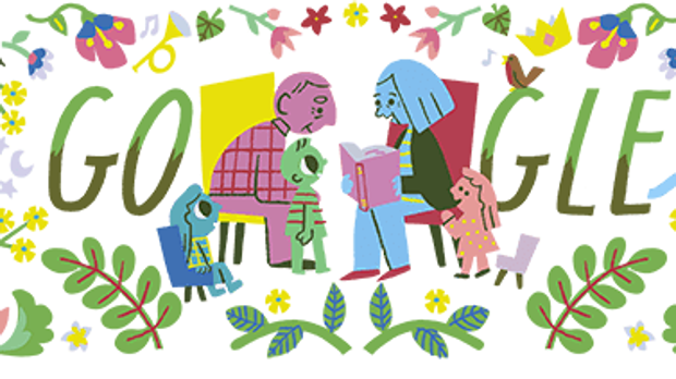 Grandparents' Day: Google pays tribute to them with their doodle.