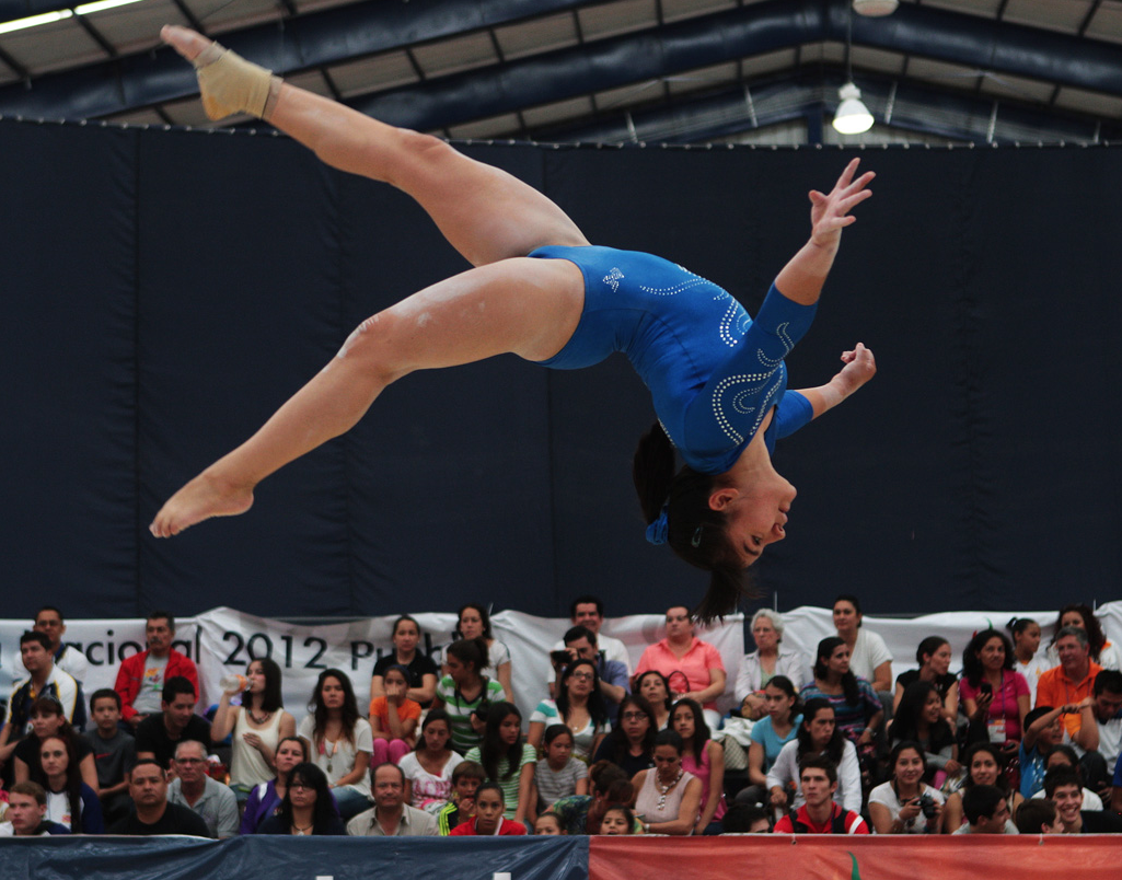 The first Mexican athlete to win a medal in gymnastics proves the critics wrong
