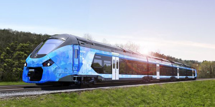 Hydrogen trains getting ready in Germany to combat pollution