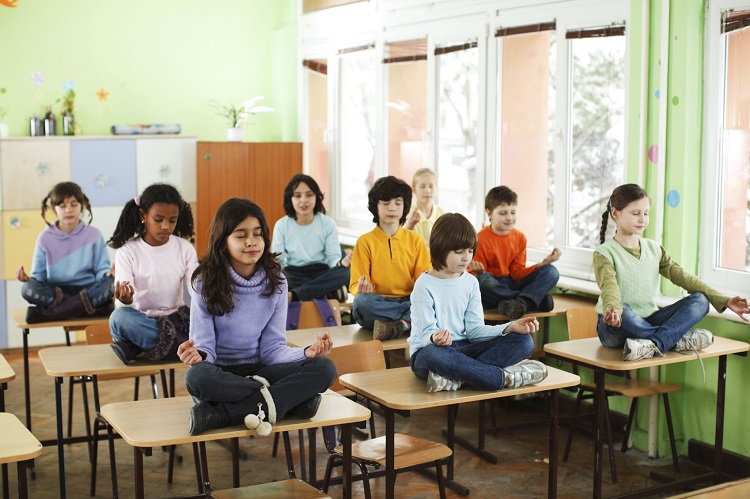 Meditation and Mindfulness for Children in School