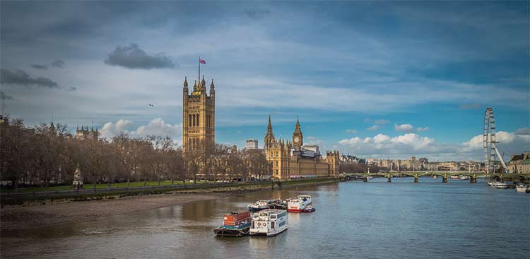 A Multinational Company Cleans The Thames River In London