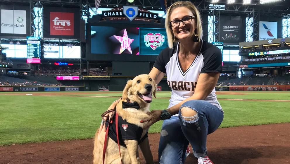Todd, a pup from Arizona, was awarded 'Dog of the Year'