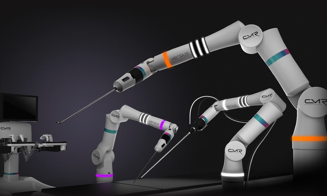 Versius: the robot that performs better surgeons in less time